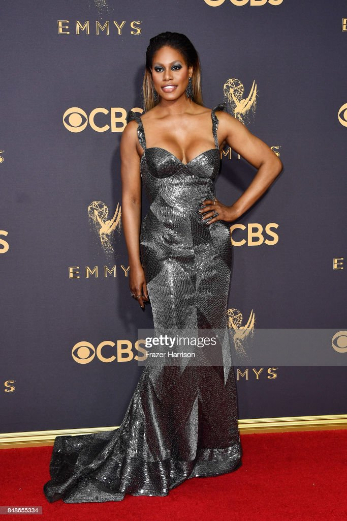 Actor Laverne Cox attends the 69th Annual Primetime Emmy Awards at Microsoft Theater on September 17, 2017 in Los Angeles, California.
