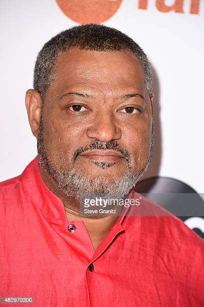 Actor Lawrence Fishburne attends Disney ABC Television Group's 2015 TCA Summer Press Tour at the Beverly Hilton Hotel on August 4 2015 in Beverly...