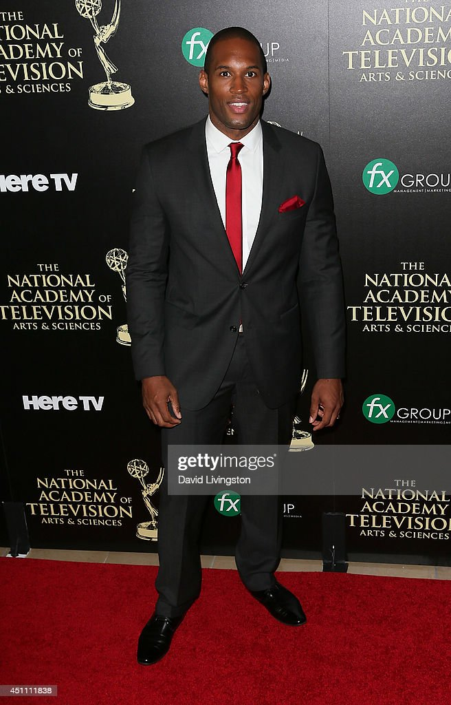 Actor Lawrence Saint-Victor attends the 41st Annual Daytime Emmy Awards at The Beverly Hilton Hotel on June 22, 2014 in Beverly Hills, California.