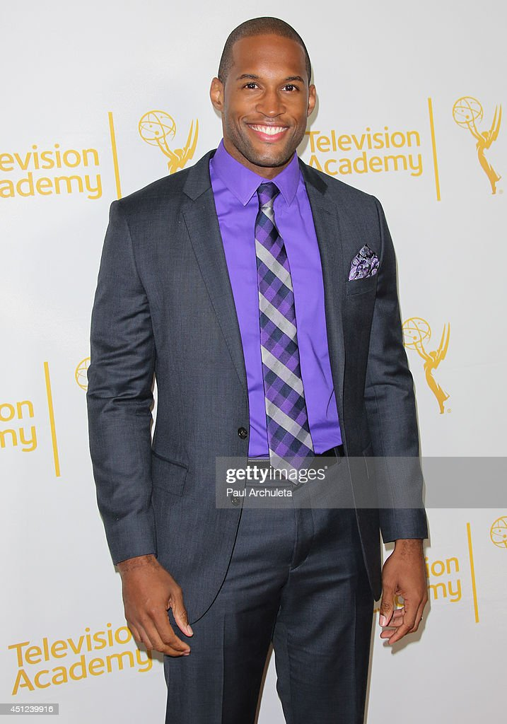 Actor Lawrence Saint-Victor attends the Daytime Emmy Nominee Reception at The London West Hollywood on June 19, 2014 in West Hollywood, California.