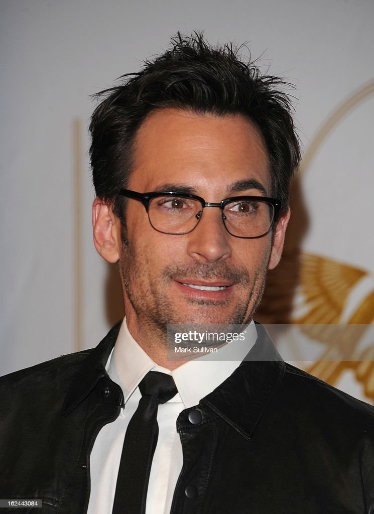 Actor Lawrence Zarian arrives at the LOVEGOLD cocktail party to celebrate 'How To Survive A Plague' at Chateau Marmont on February 22, 2013 in Los Angeles, California.