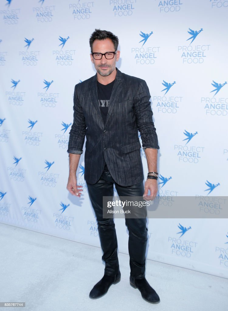 Actor Lawrence Zarian attends Project Angel Food's 2017 Angel Awards on August 19, 2017 in Los Angeles, California.