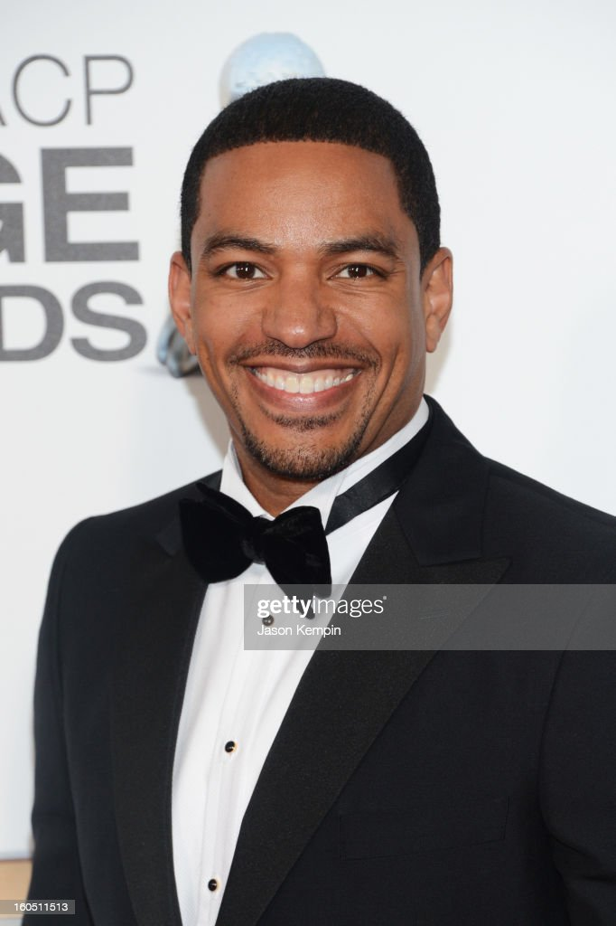 Actor <a gi-track='captionPersonalityLinkClicked' href=/galleries/search?phrase=Laz+Alonso&family=editorial&specificpeople=2179533 ng-click='$event.stopPropagation()'>Laz Alonso</a> arrives at the 44th NAACP Image Awards held at The Shrine Auditorium on February 1, 2013 in Los Angeles, California.