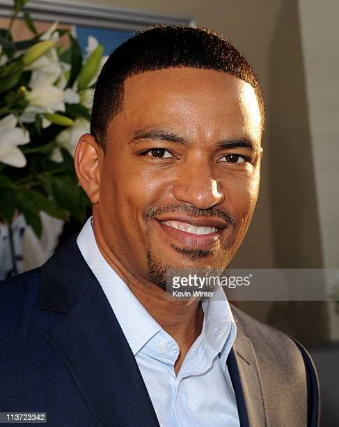 Actor Laz Alonso arrives at the premiere of TriStar Pictures' 'Jumping The Broom' at the Cinerama Dome Theater on May 4 2011 in Los Angeles California