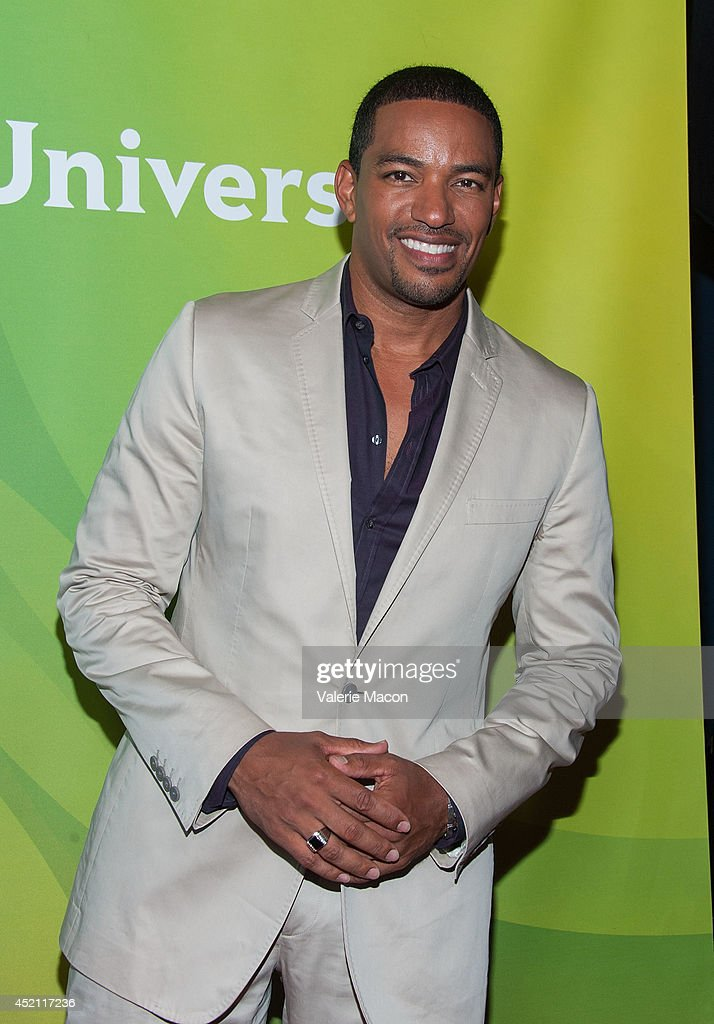 Actor <a gi-track='captionPersonalityLinkClicked' href=/galleries/search?phrase=Laz+Alonso&family=editorial&specificpeople=2179533 ng-click='$event.stopPropagation()'>Laz Alonso</a> attends NBCUniversal's 2014 Summer TCA Tour - Day 1 at The Beverly Hilton Hotel on July 13, 2014 in Beverly Hills, California.