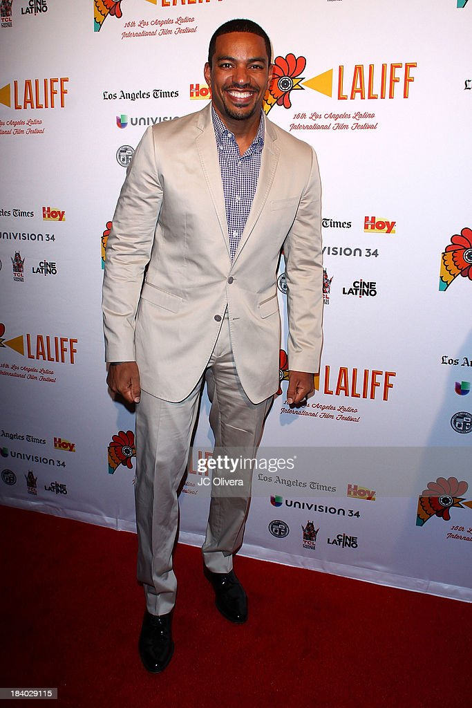 Actor <a gi-track='captionPersonalityLinkClicked' href=/galleries/search?phrase=Laz+Alonso&family=editorial&specificpeople=2179533 ng-click='$event.stopPropagation()'>Laz Alonso</a> attends The 2013 Los Angeles Latino International Film Festival - Opening Night Gala Premiere of 'Pablo' at the El Capitan Theatre on October 10, 2013 in Hollywood, California.