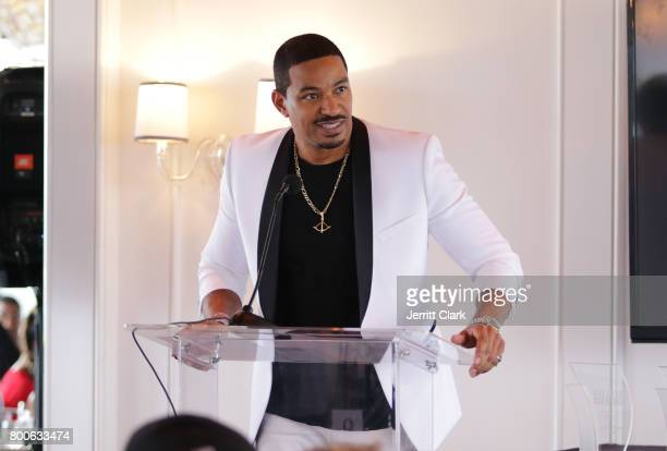Actor Laz Alonso attends the Culture Creators 2nd Annual Awards Brunch Presented By Motions Hair And Ciroc at Mr C Beverly Hills on June 24 2017 in...