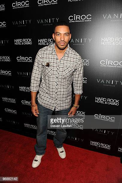 Actor Laz Alonso star of 'Avatar' the movie attends the grand opening of the Vanity nightclub hosted by Sean Diddy Combs at the Hard Rock Hotel and...