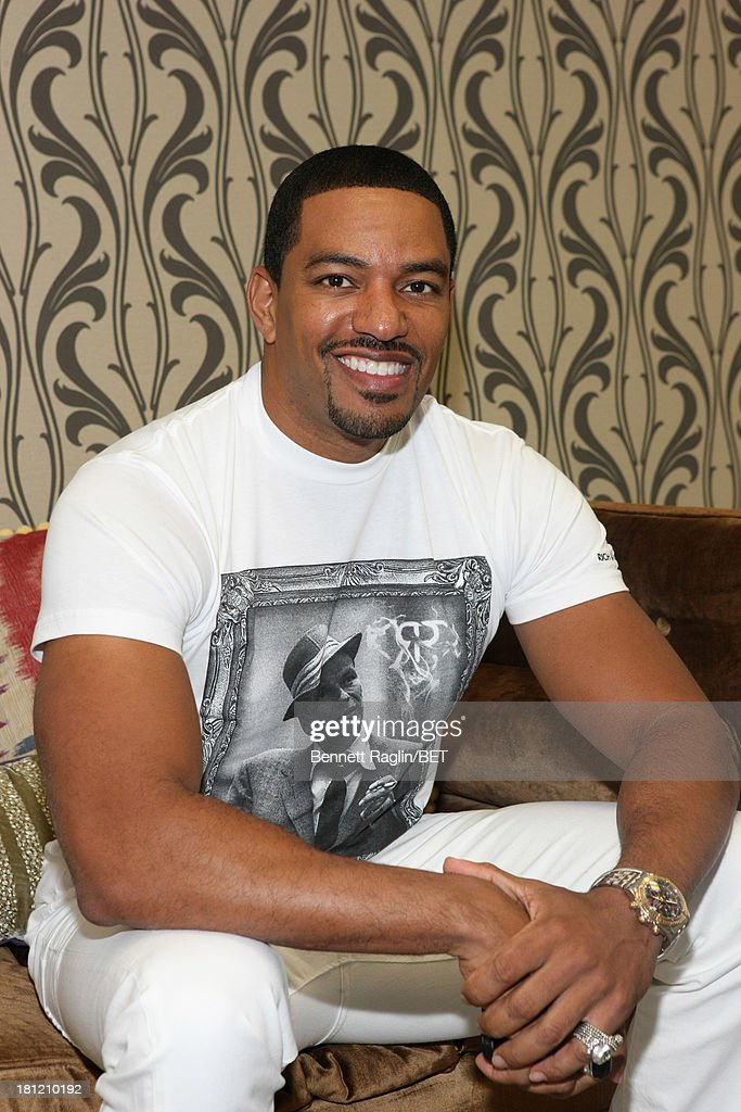 Actor <a gi-track='captionPersonalityLinkClicked' href=/galleries/search?phrase=Laz+Alonso&family=editorial&specificpeople=2179533 ng-click='$event.stopPropagation()'>Laz Alonso</a> visits 106 & Park at 106 & Park Studio on September 18, 2013 in New York City.