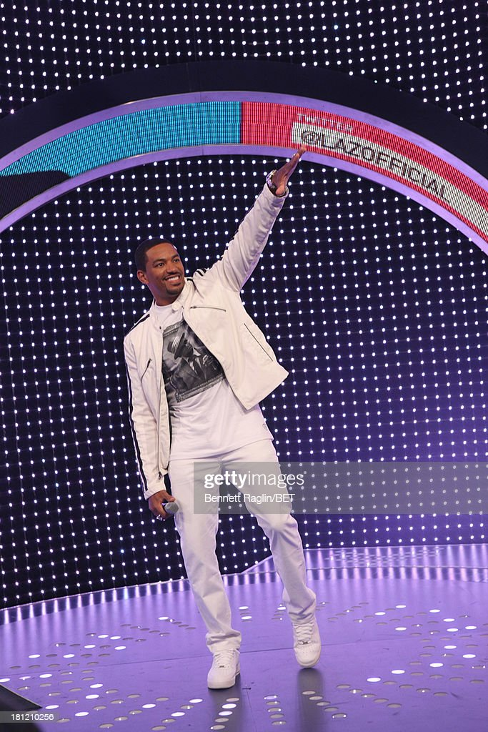 Actor Laz Alonso visits 106 & Park at 106 & Park Studio on September 18, 2013 in New York City.
