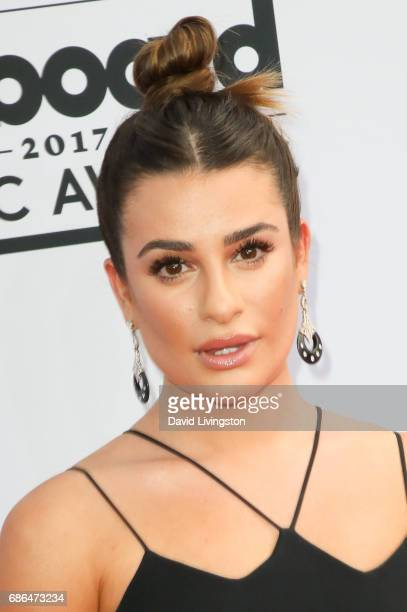 Actor Lea Michele attends the 2017 Billboard Music Awards at the TMobile Arena on May 21 2017 in Las Vegas Nevada