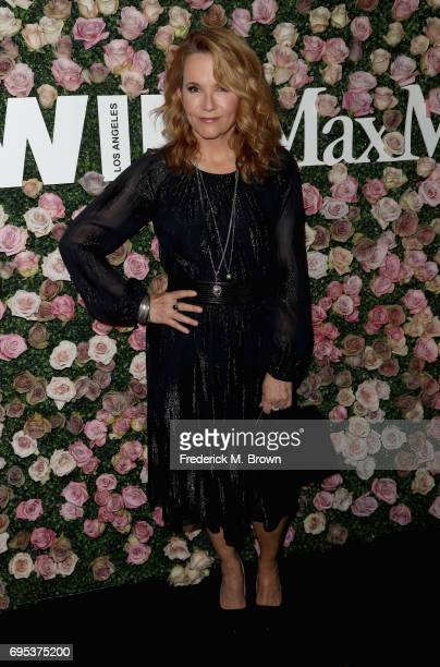 Actor Lea Thompson attends Max Mara Celebration of Zoey Deutch as The 2017 Women In Film Max Mara Face of The Future Award Recipient at Chateau...