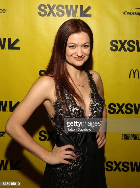 Actor Leah McKendrick attends the premiere of 'MFA' during 2017 SXSW Conference and Festivals at Stateside Theater on March 13 2017 in Austin Texas