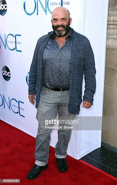 Actor Lee Arenberg attends the Screening of ABC's 'Once Upon A Time' Season 4 at the El Capitan Theatre on September 21 2014 in Hollywood California