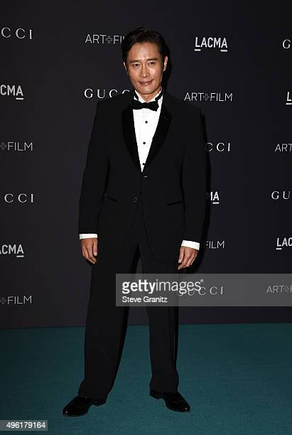 Actor Lee Byunghun attends LACMA 2015 ArtFilm Gala Honoring James Turrell and Alejandro G Iñárritu Presented by Gucci at LACMA on November 7 2015 in...