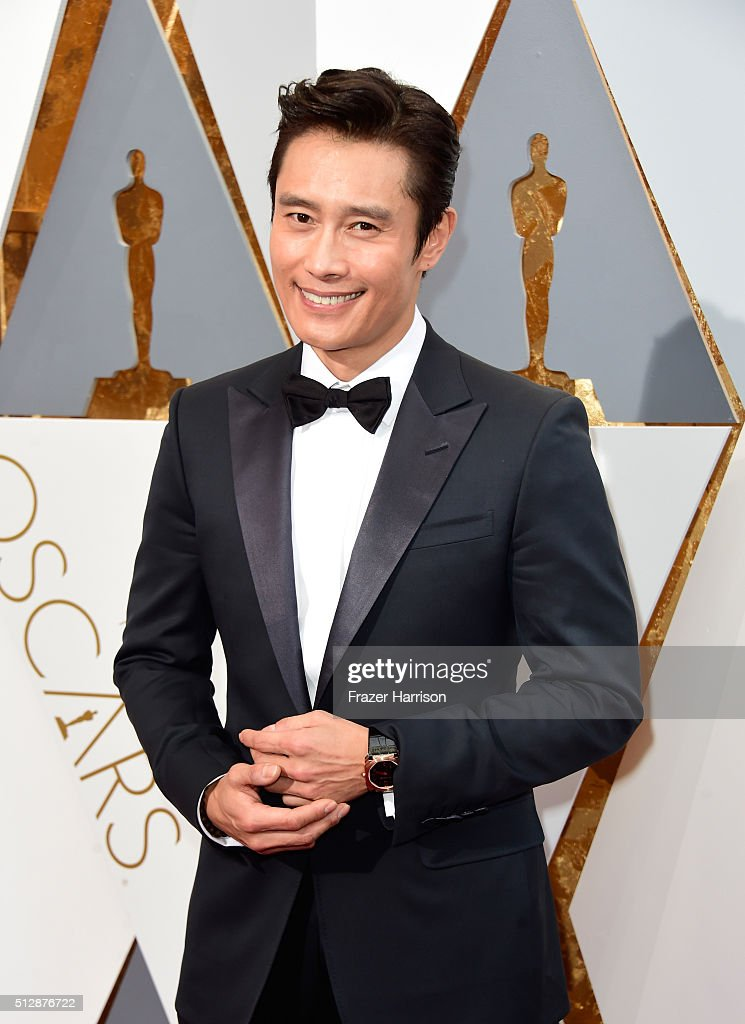Actor Lee Byung-hun attends the 88th Annual Academy Awards at Hollywood & Highland Center on February 28, 2016 in Hollywood, California.