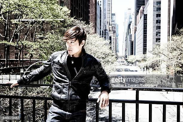 Actor Lee ByungHun is photographed for Men's Health Korea on May 5 2013 in New York City PUBLISHED IMAGE