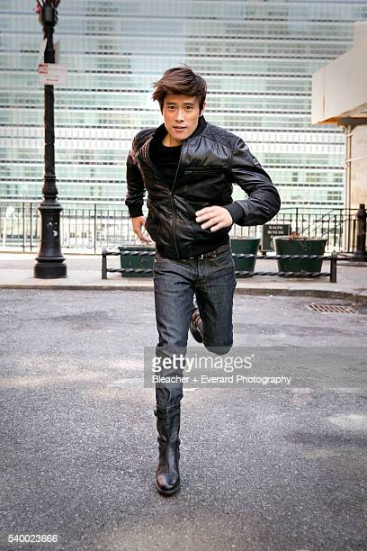 Actor Lee ByungHun is photographed for Men's Health Korea on May 5 2013 in New York City