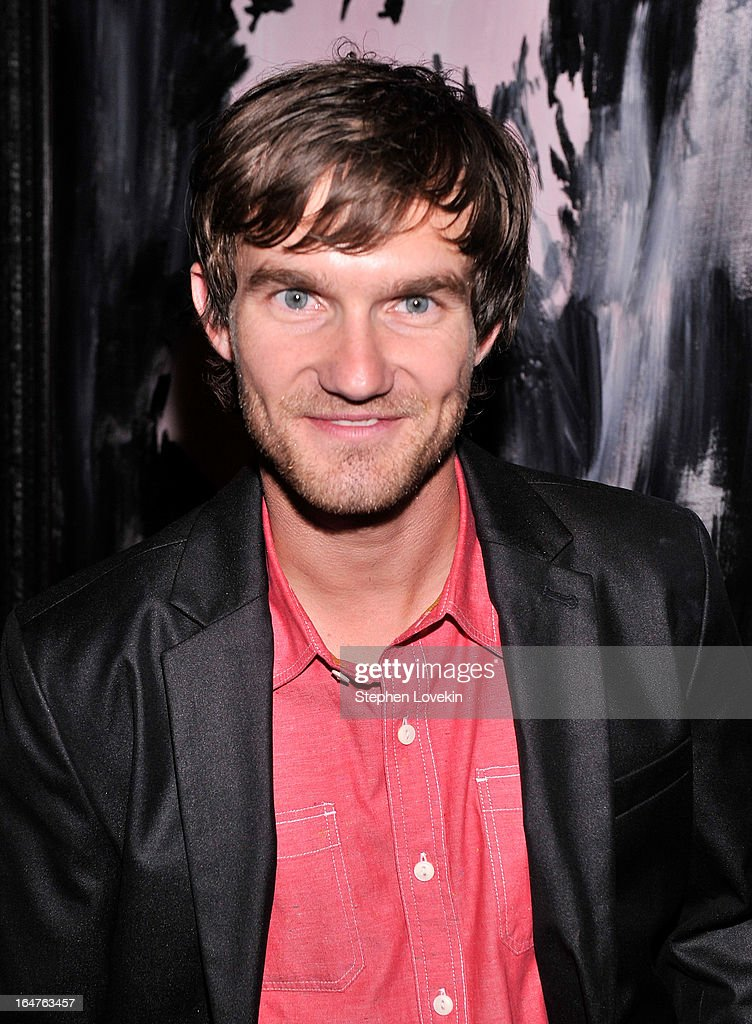 Actor Lee Hardee attends the after party for a screening of 'The Host' hosted by The Cinema Society & Jaeger-LeCoultre at Jimmy At The James Hotel on March 27, 2013 in New York City.