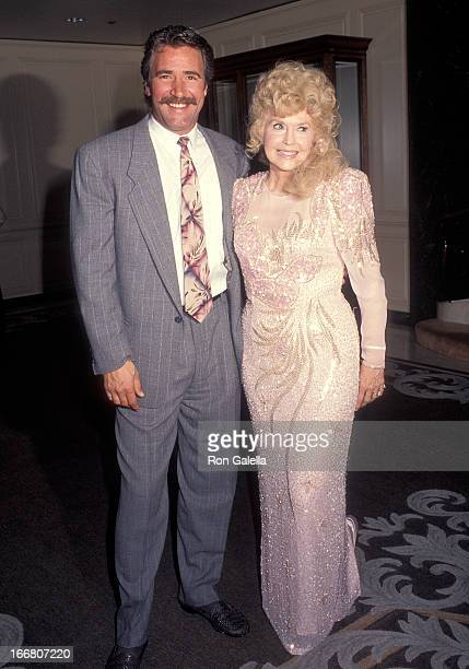 Actor Lee Horsley and actress Donna Douglas attend the American Cinema Awards Foundation Hosts 'Buddy Ebsen An American Original A Surprise 84th...