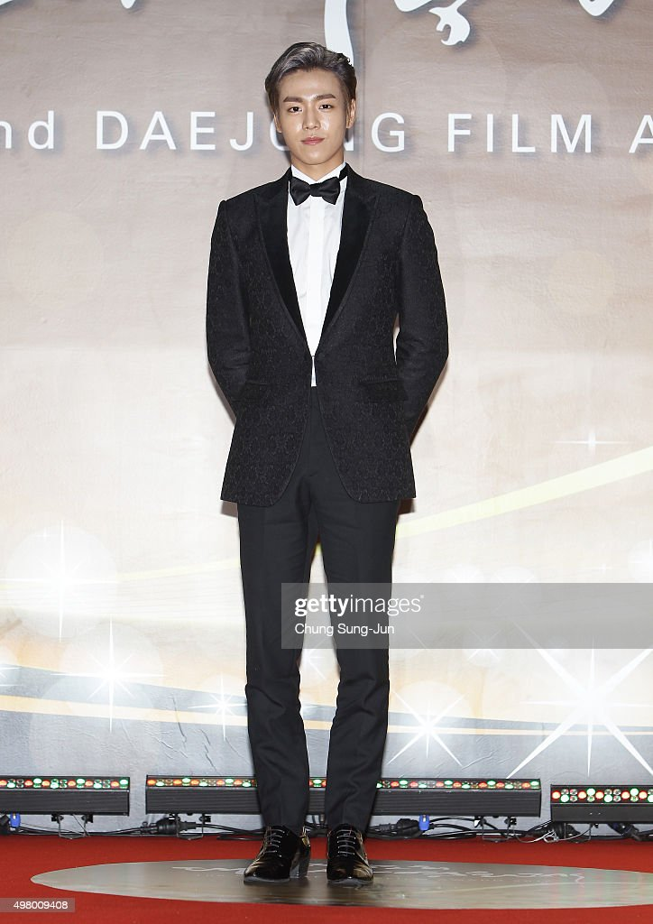 Actor Lee HyunWoo attends the 52nd Daejong Film Awards at KBS on November 20 2015 in Seoul South Korea