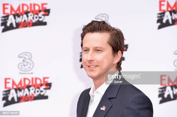 Actor Lee Ingleby attends the THREE Empire awards at The Roundhouse on March 19 2017 in London England
