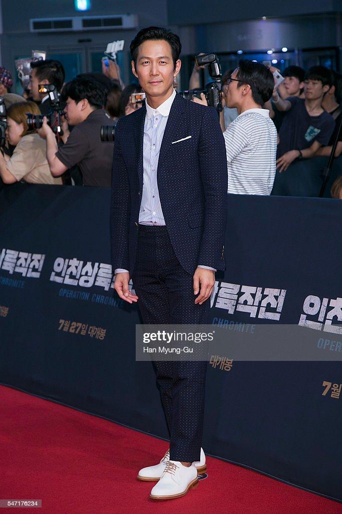 'Operation Chromite' Premiere In Seoul