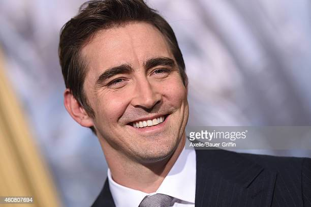 Actor Lee Pace arrives at the Los Angeles premiere of 'The Hobbit The Battle Of The Five Armies' at Dolby Theatre on December 9 2014 in Hollywood...