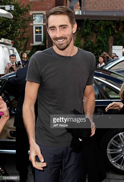 Actor Lee Pace attends the 'Ceremony' Premiere held at the Isabel Bader Theatre during the 35th Toronto International Film Festival on September 13...