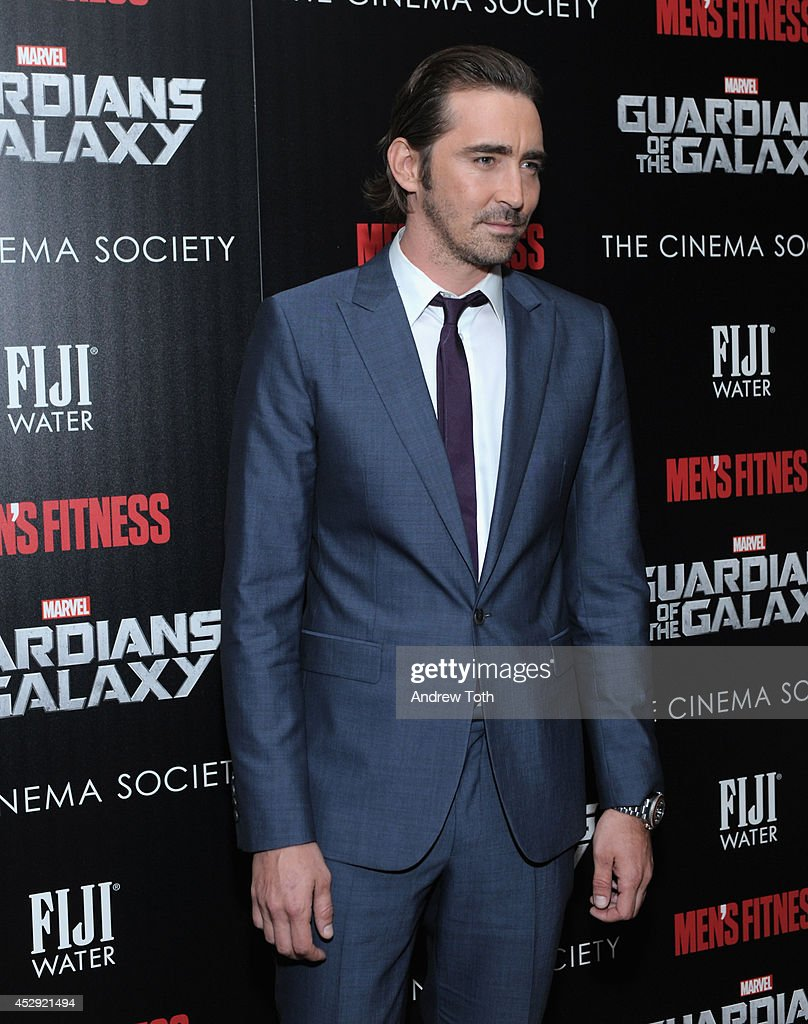 Actor <a gi-track='captionPersonalityLinkClicked' href=/galleries/search?phrase=Lee+Pace&family=editorial&specificpeople=228993 ng-click='$event.stopPropagation()'>Lee Pace</a> attends The Cinema Society with Men's Fitness & FIJI Water host a screening of 'Guardians of the Galaxy' on July 29, 2014 in New York City.
