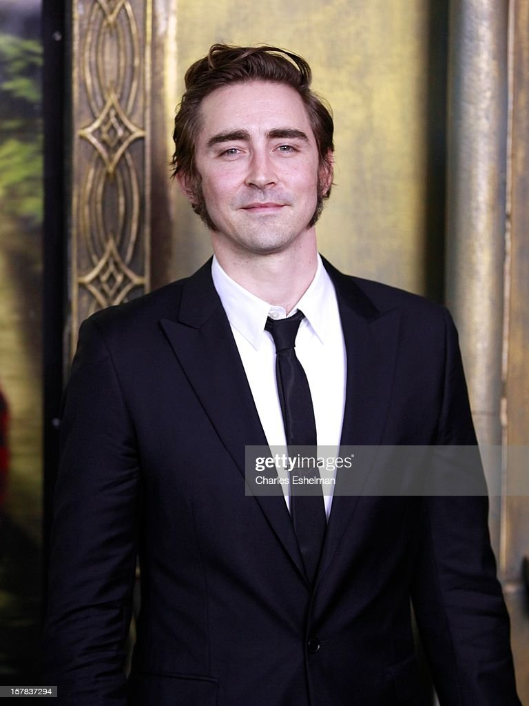 Actor Lee Pace attends 'The Hobbit: An Unexpected Journey' premiere at the Ziegfeld Theater on December 6, 2012 in New York City.
