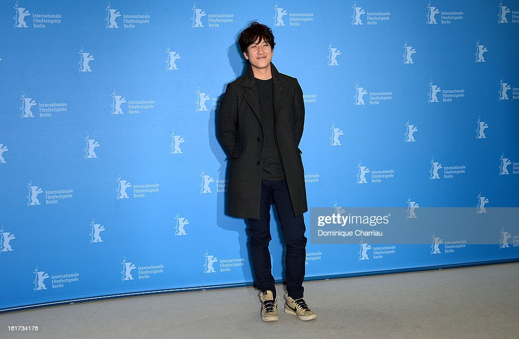Actor Lee Sun Gyun attends the 'Nobody's Daughter Haewon' Photocall during the 63rd Berlinale International Film Festival at the Grand Hyatt Hotel on February 15, 2013 in Berlin, Germany.