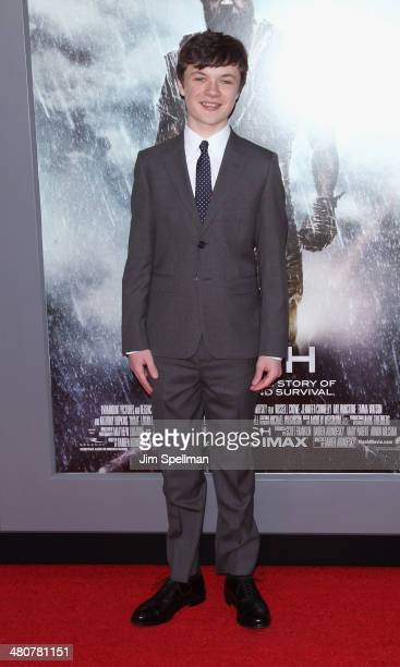 Actor Leo McHugh Carroll attends the 'Noah' New York Premiere at Ziegfeld Theatre on March 26 2014 in New York City