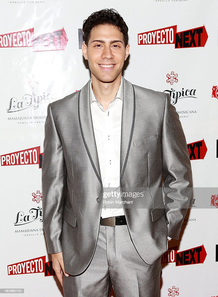 Actor Leo Minaya attends the premiere of the 'The House That Jack Built' at AMC Empire 25 theater on October 2, 2013 in New York City.