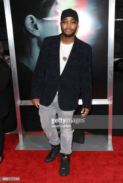 Actor Leon Thomas III attends the premiere of 'Flatliners' at The Theatre at Ace Hotel on September 27 2017 in Los Angeles California