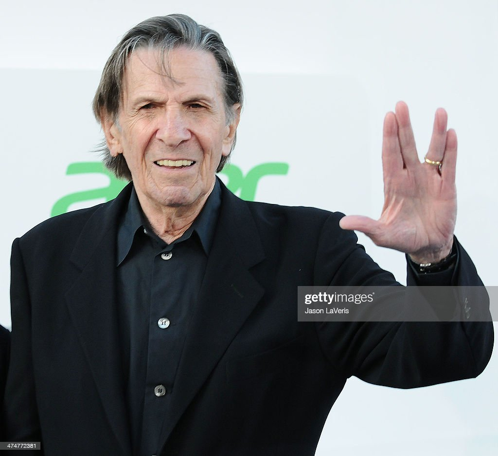 Actor Leonard Nimoy attends the premiere of 'Star Trek Into Darkness' at Dolby Theatre on May 14, 2013 in Hollywood, California.
