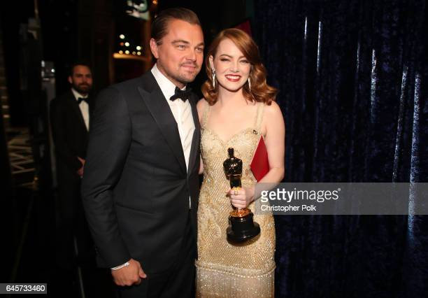 72nd British Academy Film Awards Nominees And Winners: Emma Stone Stock Photos And Pictures