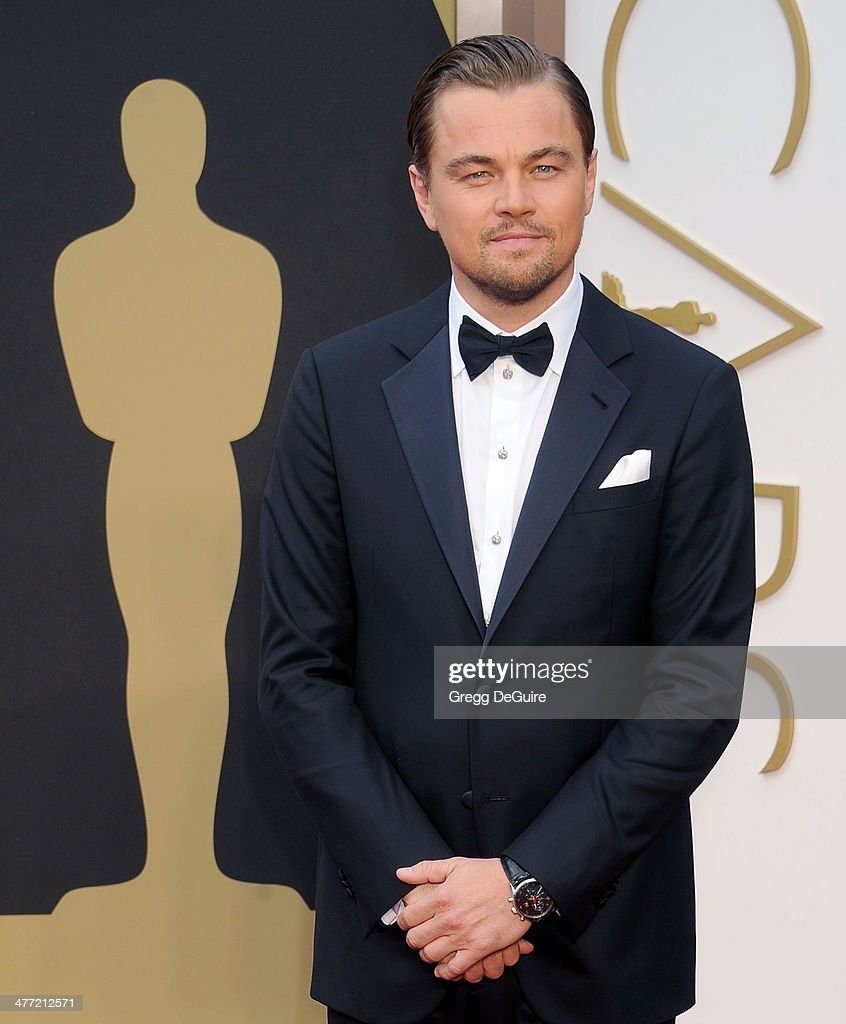 Actor <a gi-track='captionPersonalityLinkClicked' href=/galleries/search?phrase=Leonardo+DiCaprio&family=editorial&specificpeople=201635 ng-click='$event.stopPropagation()'>Leonardo DiCaprio</a> arrives at the 86th Annual Academy Awards at Hollywood & Highland Center on March 2, 2014 in Hollywood, California.