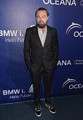 Actor Leonardo DiCaprio attends Oceana's Annual SeaChange Summer Party on August 16 2014 in Laguna Beach California
