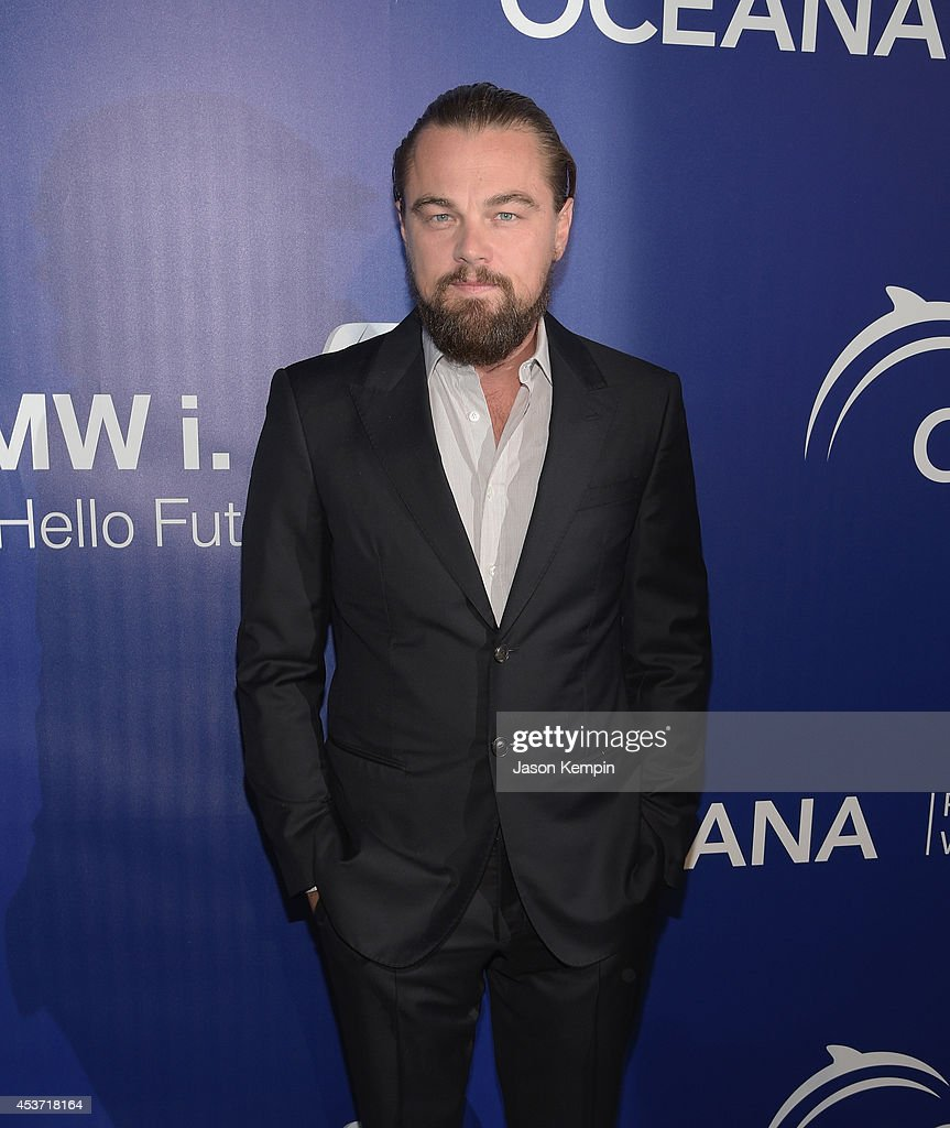 Actor <a gi-track='captionPersonalityLinkClicked' href=/galleries/search?phrase=Leonardo+DiCaprio&family=editorial&specificpeople=201635 ng-click='$event.stopPropagation()'>Leonardo DiCaprio</a> attends Oceana's Annual SeaChange Summer Party on August 16, 2014 in Laguna Beach, California.