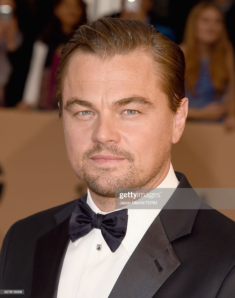 Actor Leonardo DiCaprio attends The 22nd Annual Screen Actors Guild Awards at The Shrine Auditorium on January 30, 2016 in Los Angeles, California. 25650_015