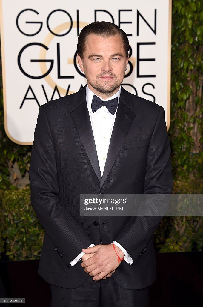 Actor Leonardo DiCaprio attends the 73rd Annual Golden Globe Awards held at the Beverly Hilton Hotel on January 10, 2016 in Beverly Hills, California.
