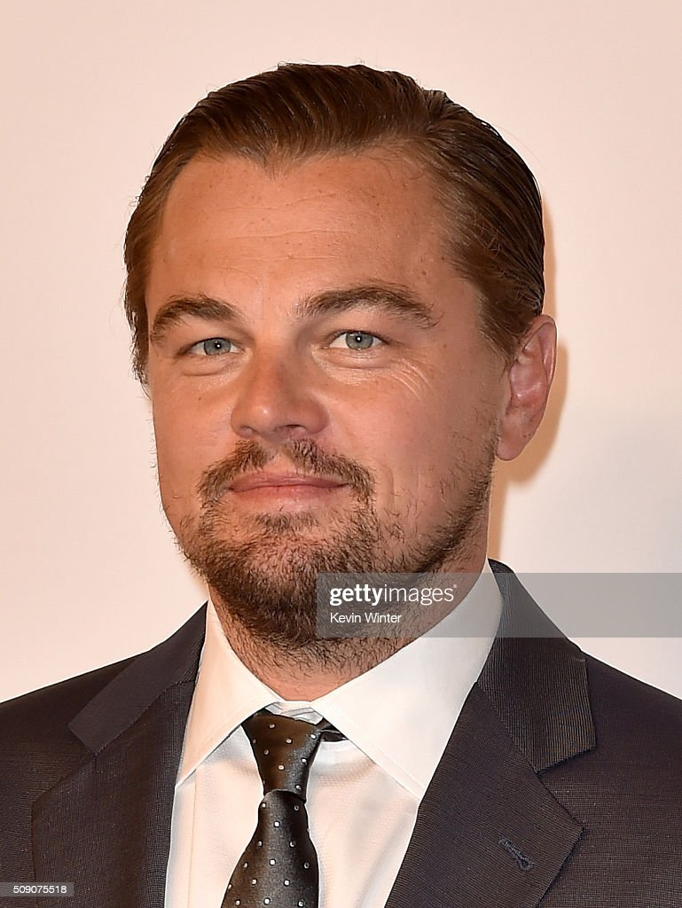 Actor Leonardo DiCaprio attends the 88th Annual Academy Awards nominee luncheon on February 8, 2016 in Beverly Hills, California.