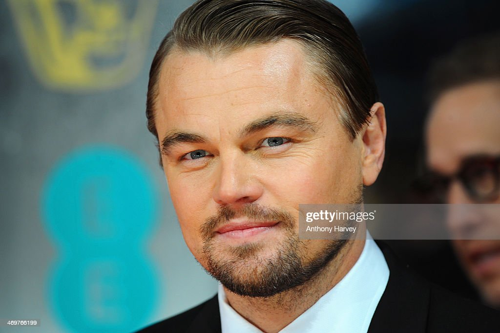 Actor <a gi-track='captionPersonalityLinkClicked' href=/galleries/search?phrase=Leonardo+DiCaprio&family=editorial&specificpeople=201635 ng-click='$event.stopPropagation()'>Leonardo DiCaprio</a> attends the EE British Academy Film Awards 2014 at The Royal Opera House on February 16, 2014 in London, England.