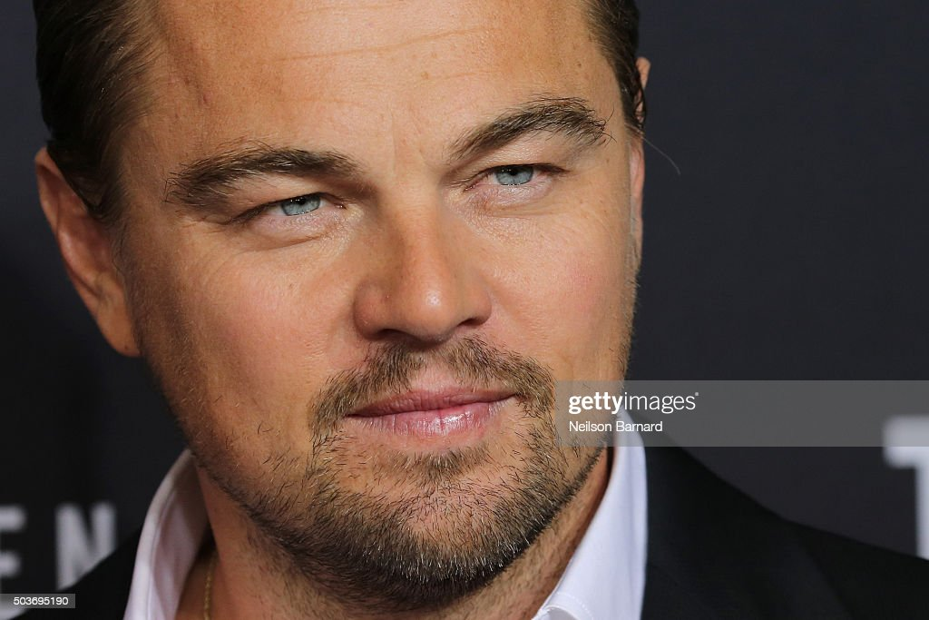 Actor <a gi-track='captionPersonalityLinkClicked' href=/galleries/search?phrase=Leonardo+DiCaprio&family=editorial&specificpeople=201635 ng-click='$event.stopPropagation()'>Leonardo DiCaprio</a> attends the New York special screening of 'The Revenant' at the AMC Loews Lincoln Square on January 6, 2016 in New York City.