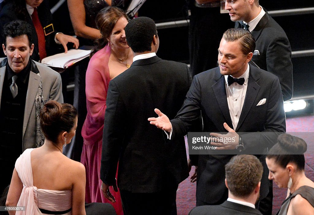 Actor <a gi-track='captionPersonalityLinkClicked' href=/galleries/search?phrase=Leonardo+DiCaprio&family=editorial&specificpeople=201635 ng-click='$event.stopPropagation()'>Leonardo DiCaprio</a> attends the Oscars at the Dolby Theatre on March 2, 2014 in Hollywood, California.