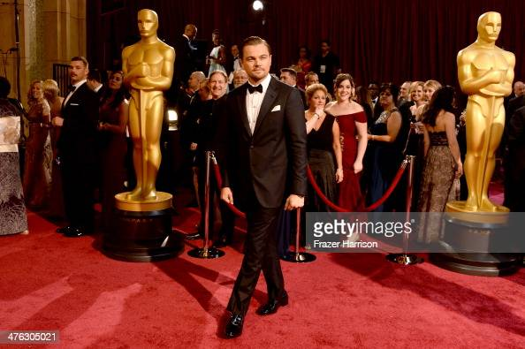 Actor Leonardo DiCaprio attends the Oscars held at Hollywood Highland Center on March 2 2014 in Hollywood California