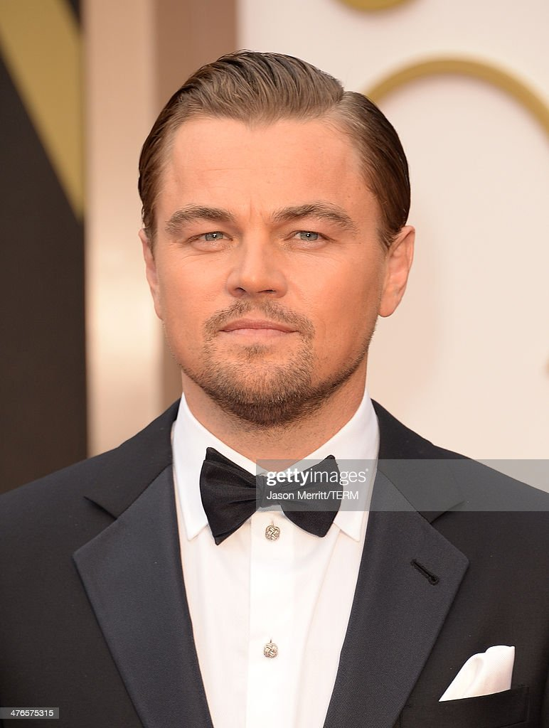 Actor <a gi-track='captionPersonalityLinkClicked' href=/galleries/search?phrase=Leonardo+DiCaprio&family=editorial&specificpeople=201635 ng-click='$event.stopPropagation()'>Leonardo DiCaprio</a> attends the Oscars held at Hollywood & Highland Center on March 2, 2014 in Hollywood, California.