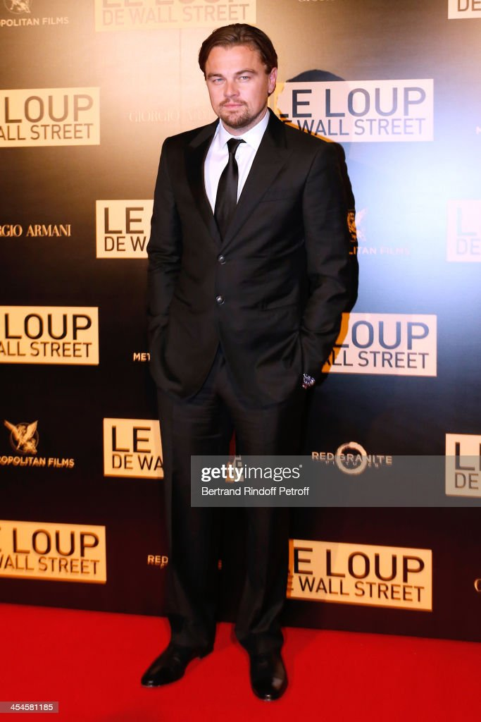 Actor <a gi-track='captionPersonalityLinkClicked' href=/galleries/search?phrase=Leonardo+DiCaprio&family=editorial&specificpeople=201635 ng-click='$event.stopPropagation()'>Leonardo DiCaprio</a> attends the photocall before the party for 'The Wolf of Wall Street' World Premiere. Held at Palais Brogniart on December 9, 2013 in Paris, France.