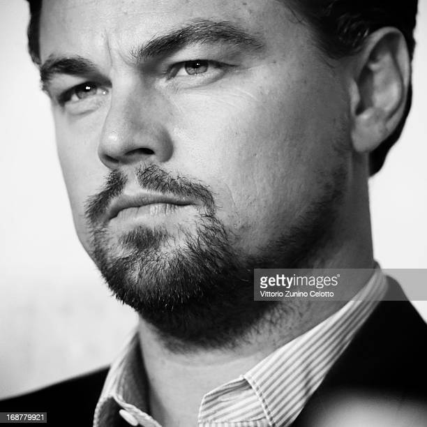 Actor Leonardo DiCaprio attends the 'The Great Gatsby' Press Conference during the 66th Annual Cannes Film Festival on May 15 2013 in Cannes France